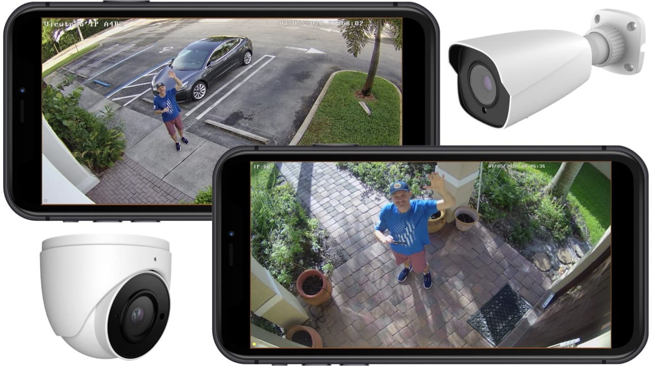 View Security Cameras at Multiple Locations