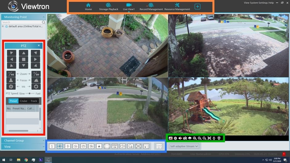 Windows Video Surveillance Software