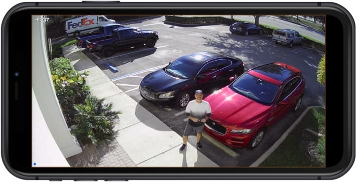 1080p BNC Security Camera iPhone App