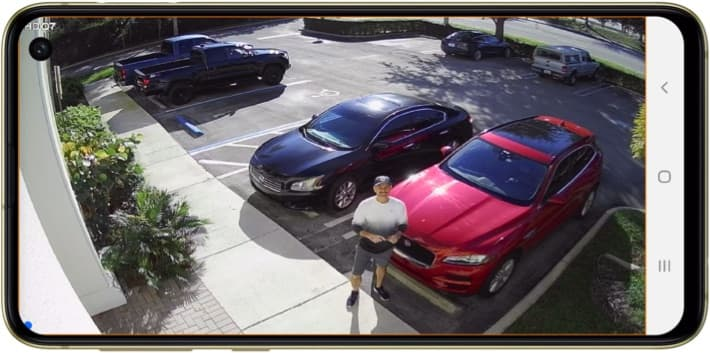 Security Camera Android App