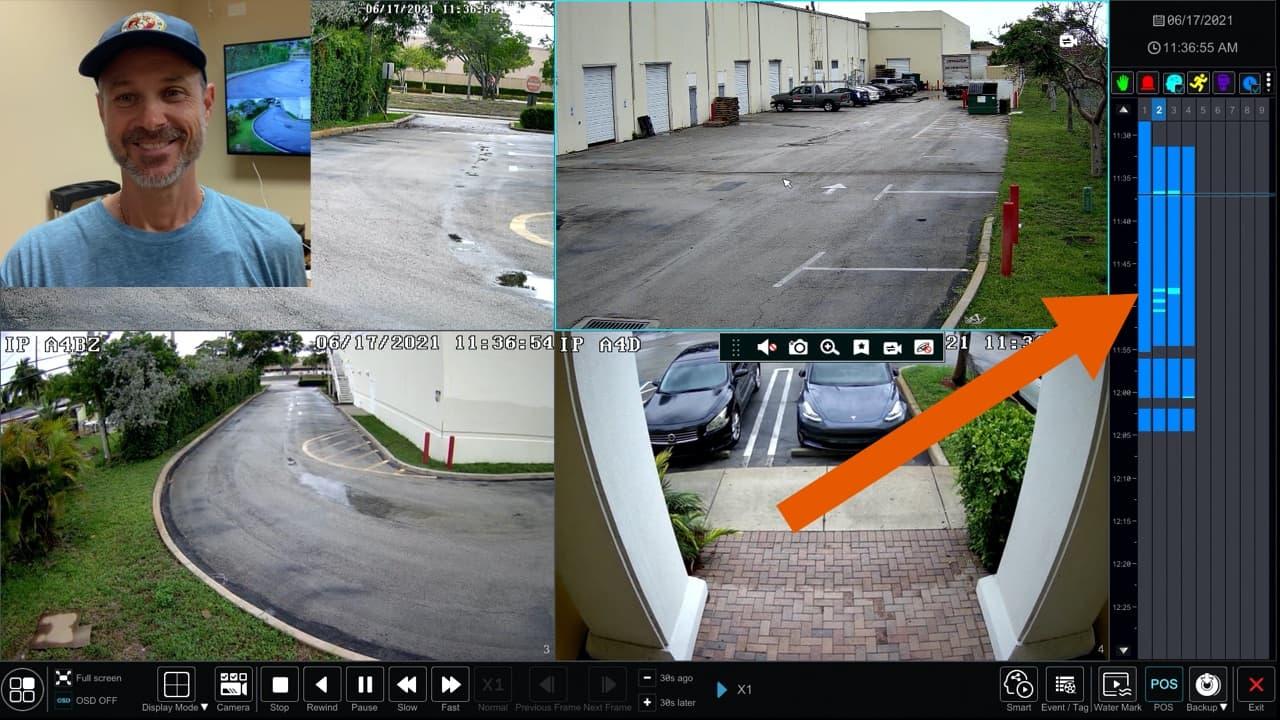 Security Camera DVR Video Recording Setup