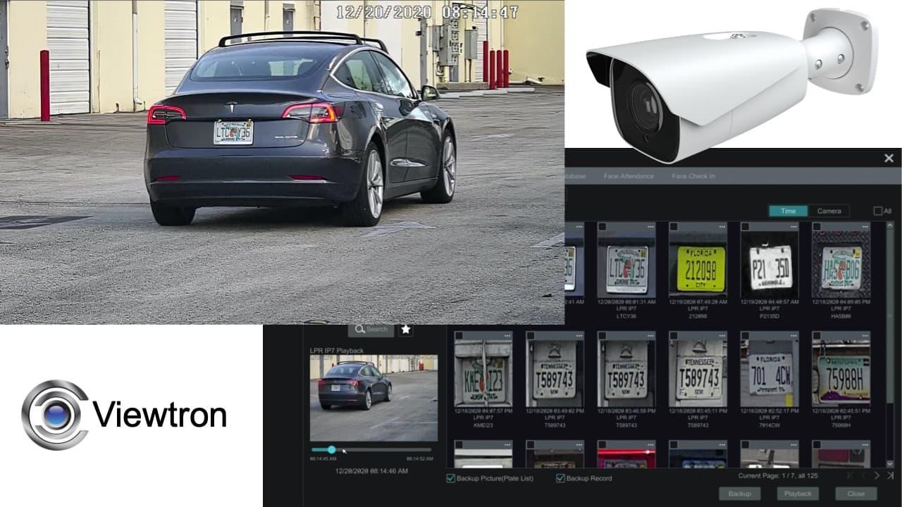 LPR Video Surveillance Recording