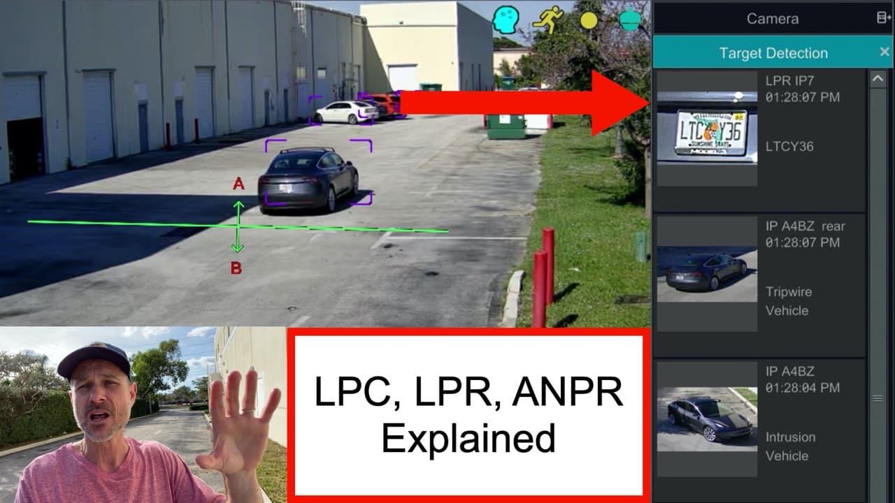 License Plate Capture vs License Plate Recognition Camera