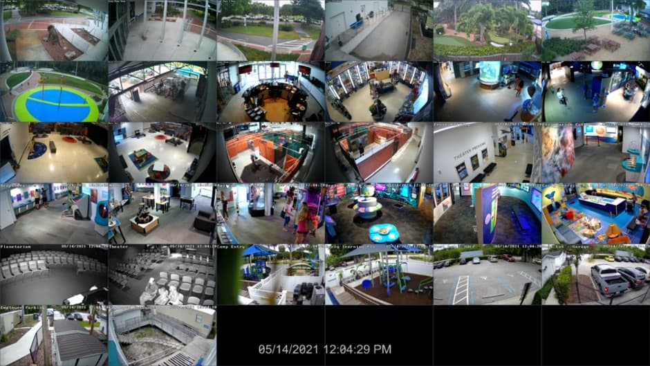 32 Channel NVR Camera System