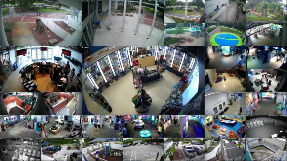 32 Channel Security Camera System