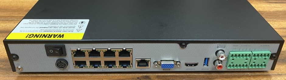 IP Camera NVR with PoE