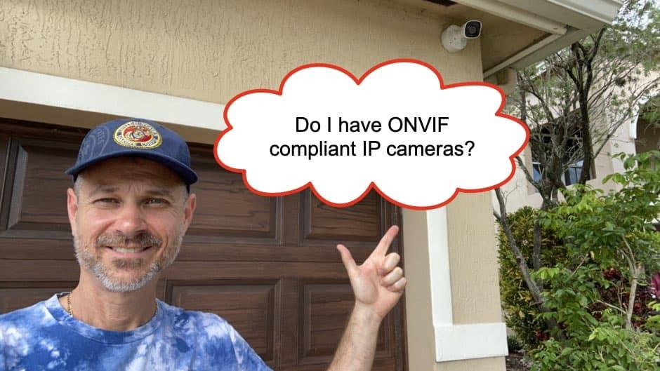 ONVIF Compliant IP Cameras