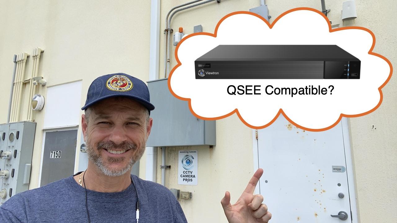 QSEE camera compatible DVR
