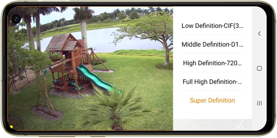 HD Security Camera Android App