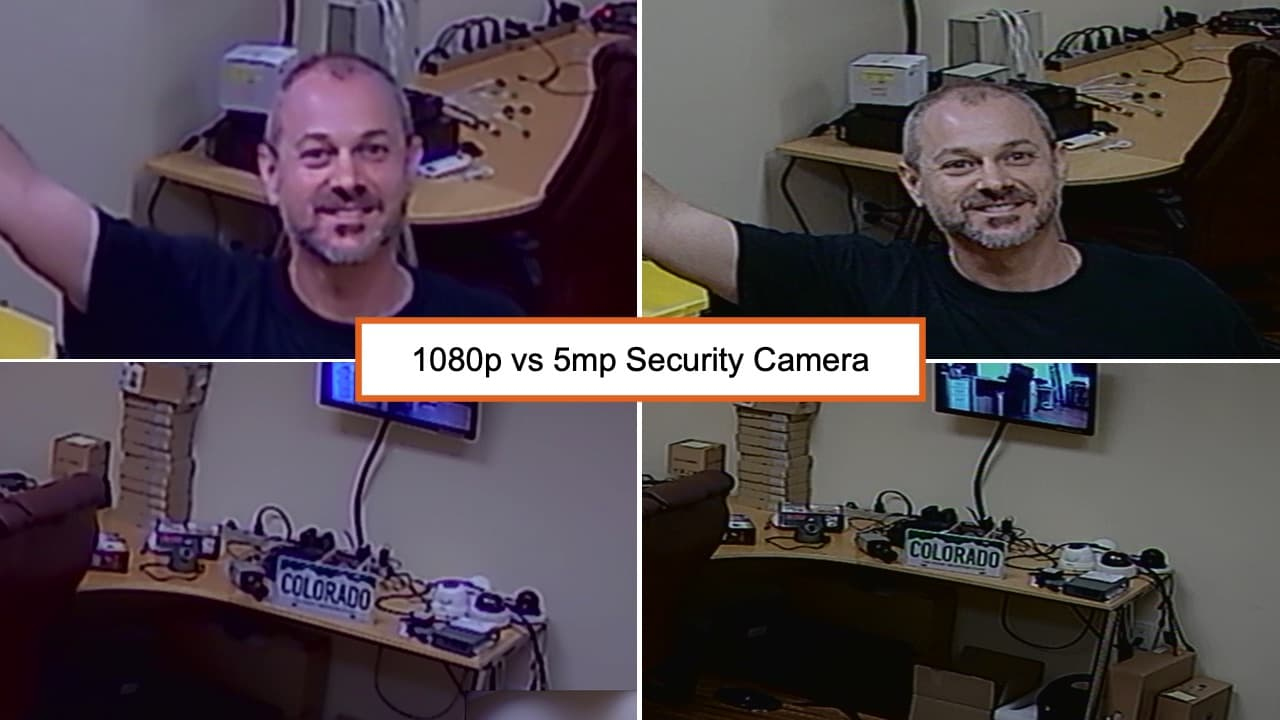 1080p vs 5mp Security Camera