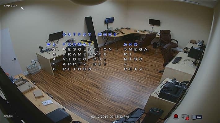 Caméra HD CCTV Lipstick