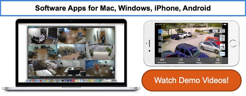 Mac Compatible CCTV Security Camera DVR