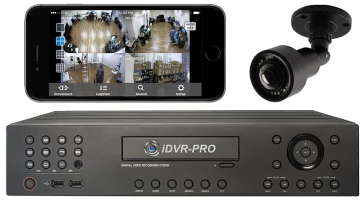 Surveillance DVR Remote iPhone Access