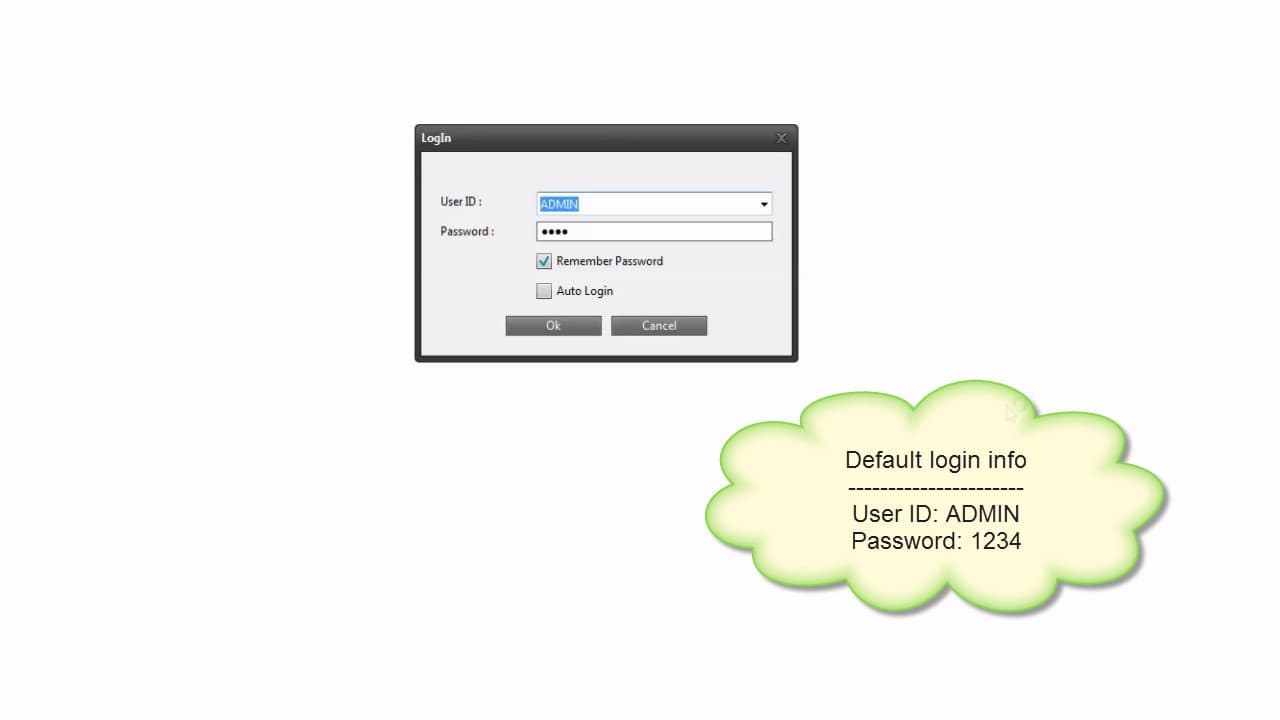 DVR Viewer Software Login