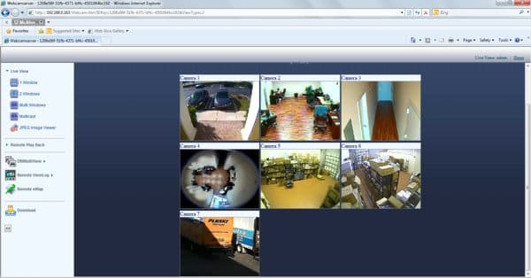 Geovision systems geovision surveillance cameras for Live camera website