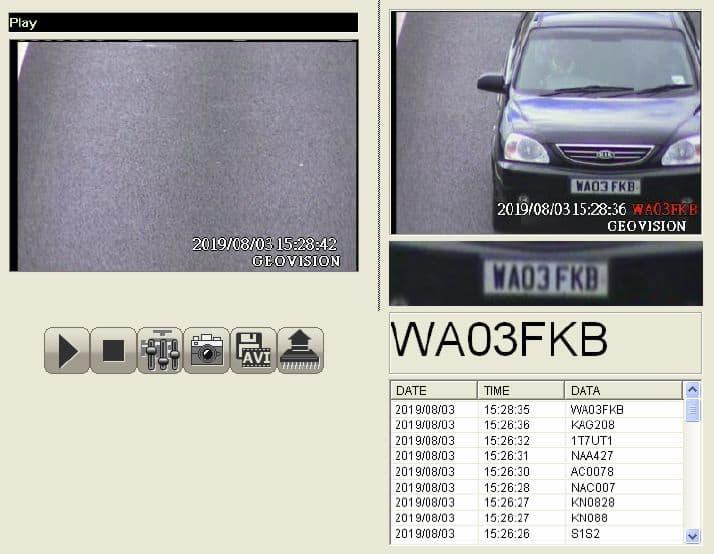 GV-DSP LPR V3 Geovision License Plate Recognition ANPR Network Server