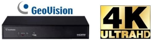 Geovision 4K Network Video Recorders / NVRs
