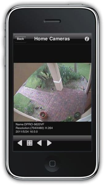 GV-VS04H Geovision CCTV to IP Network Video Server, 4 Camera, iPad App