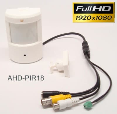1080p HD Hidden PIR Spy Camera