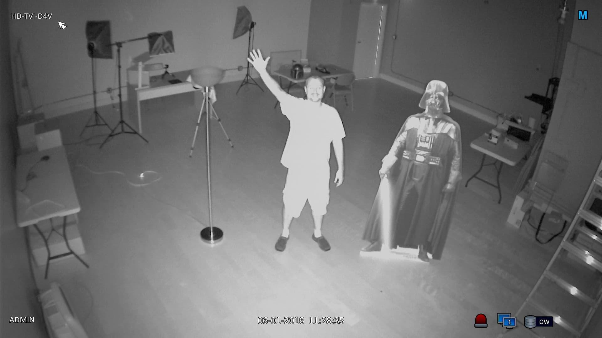 Indoor Dome Hd Tvi Camera 1080p Video Varifocal Lens Ir