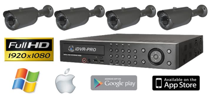 1080p HD Security Camera Systems, 1080p HD CCTV System
