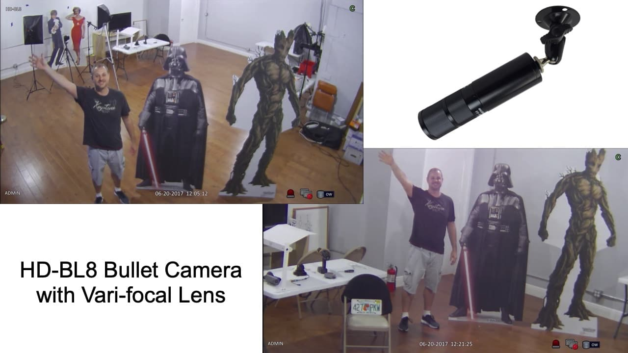 HD Bullet Security Camera