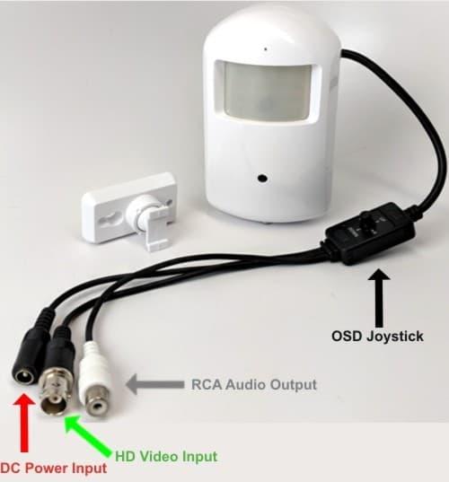 Hidden Infrared PIR Camera