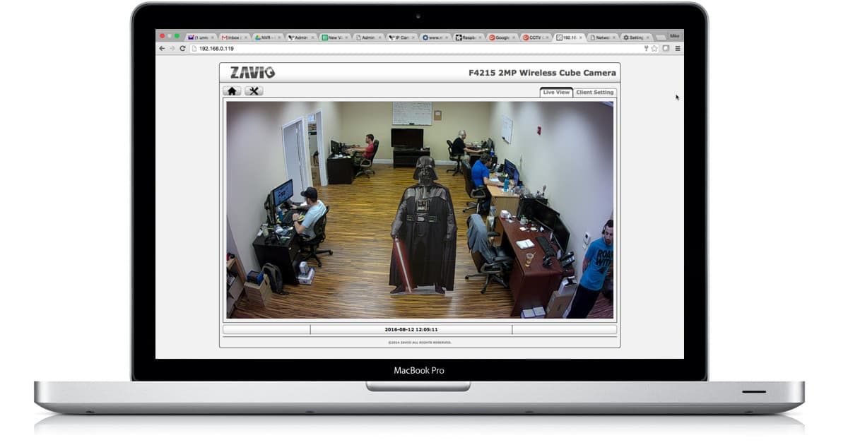 View IP Camera View on Mac
