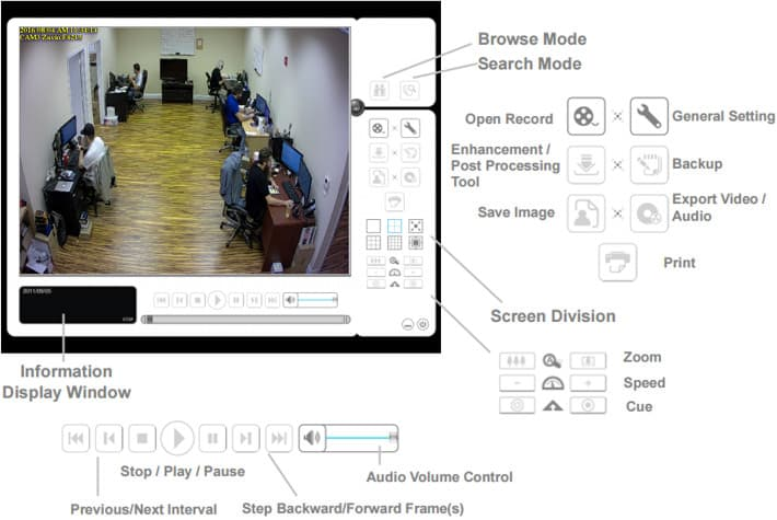 Mac IP Camera App - Recorded Video Playback