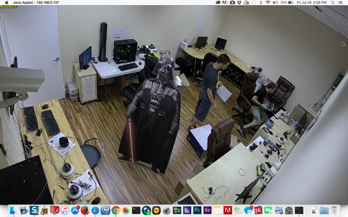 Mac IP Camera remote View Software