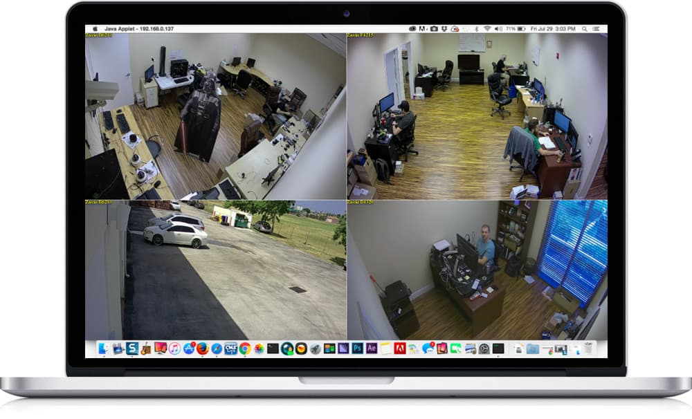 Mac IP Camera View App
