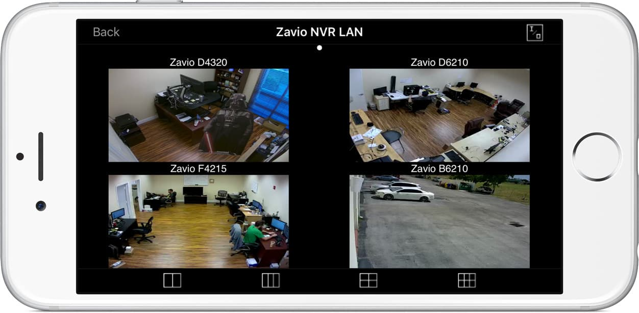 Network IP Camera iOS App