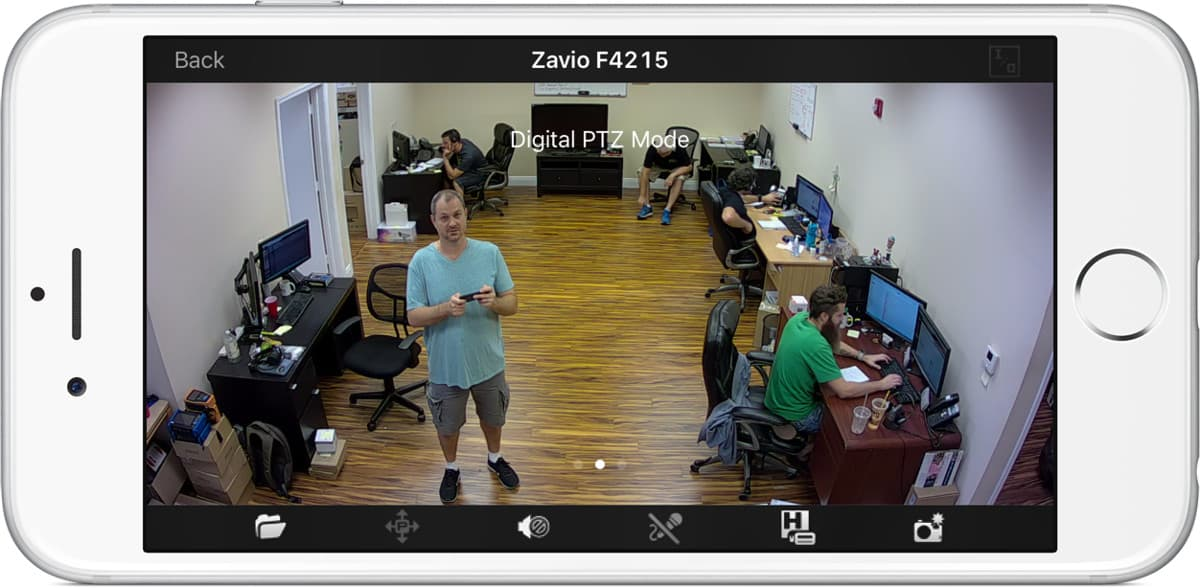 Zavio IP Camera iPhone App