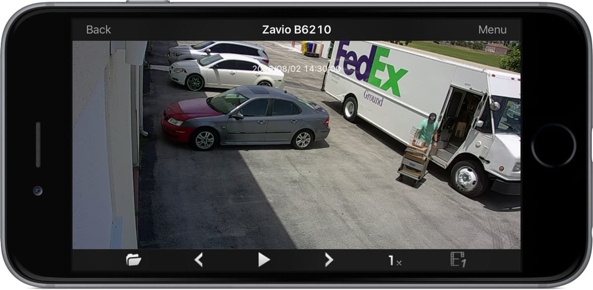 IP Camera iPhone App - Remote Recorded Video Playback