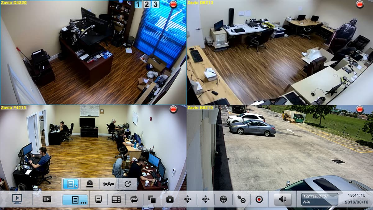 IP Camera Motion Detection Push Notifications to iPhone & Android