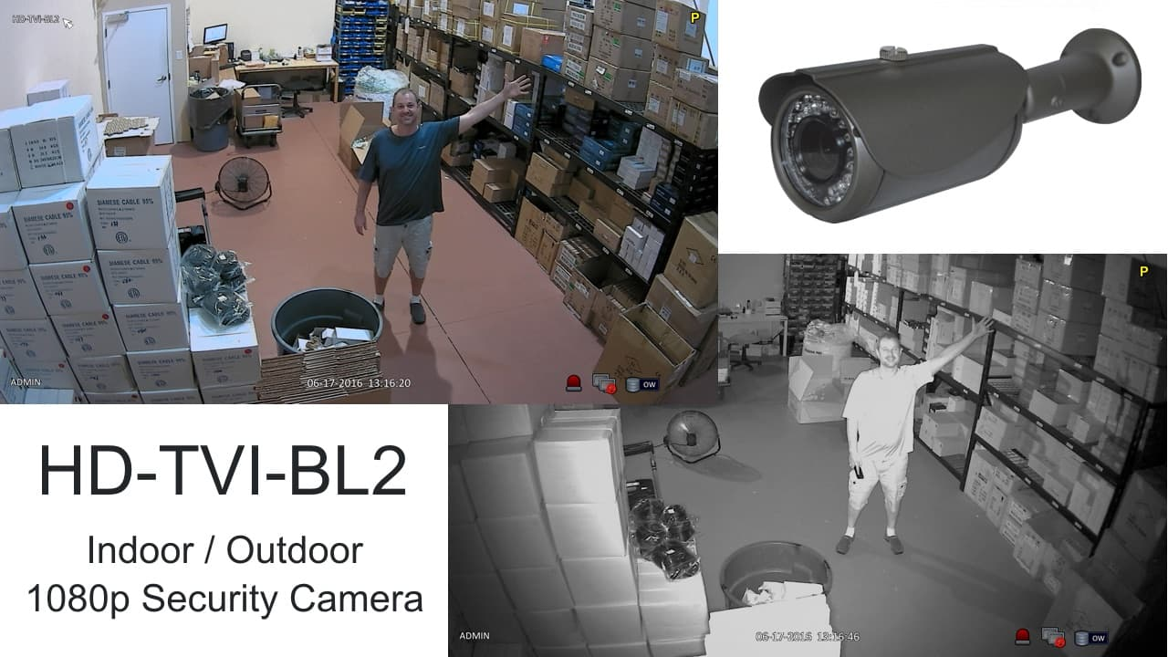 IP68 CCTV Camera