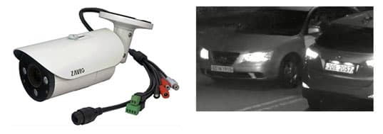 IP Camera License Plate Capture