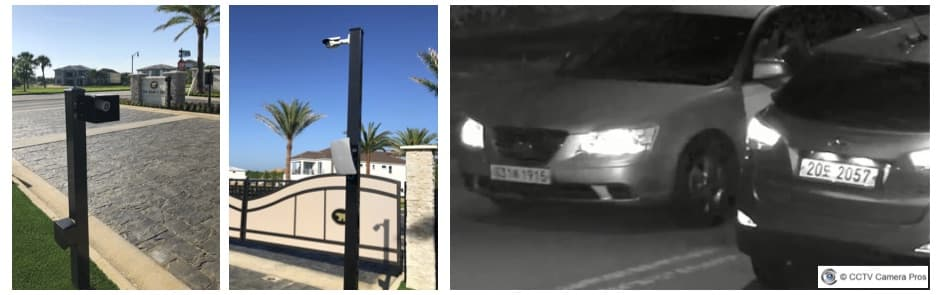 LPR Security Cameras Systems for Gate Video Monitoring