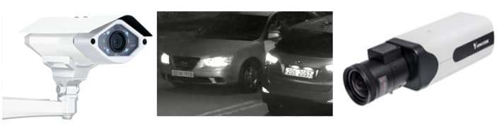IP LPR Camera / License Plate Recognition