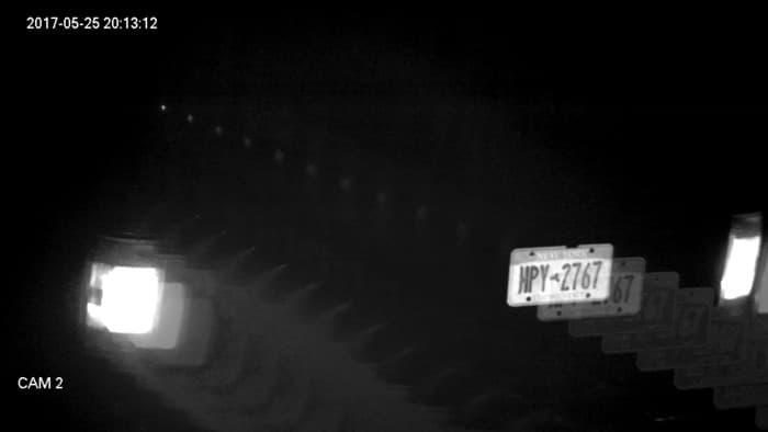 LPR-AHD5 License Plate Motion Blur