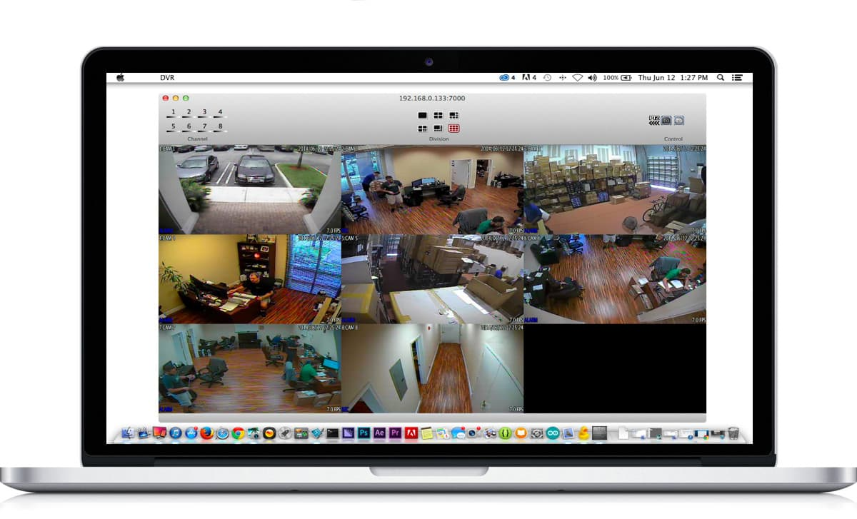Surveillance DVR Remote Access Mac | iDVR-E