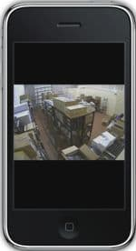 Nuuo Surveillance DVR iPhone App Live Camera View 7