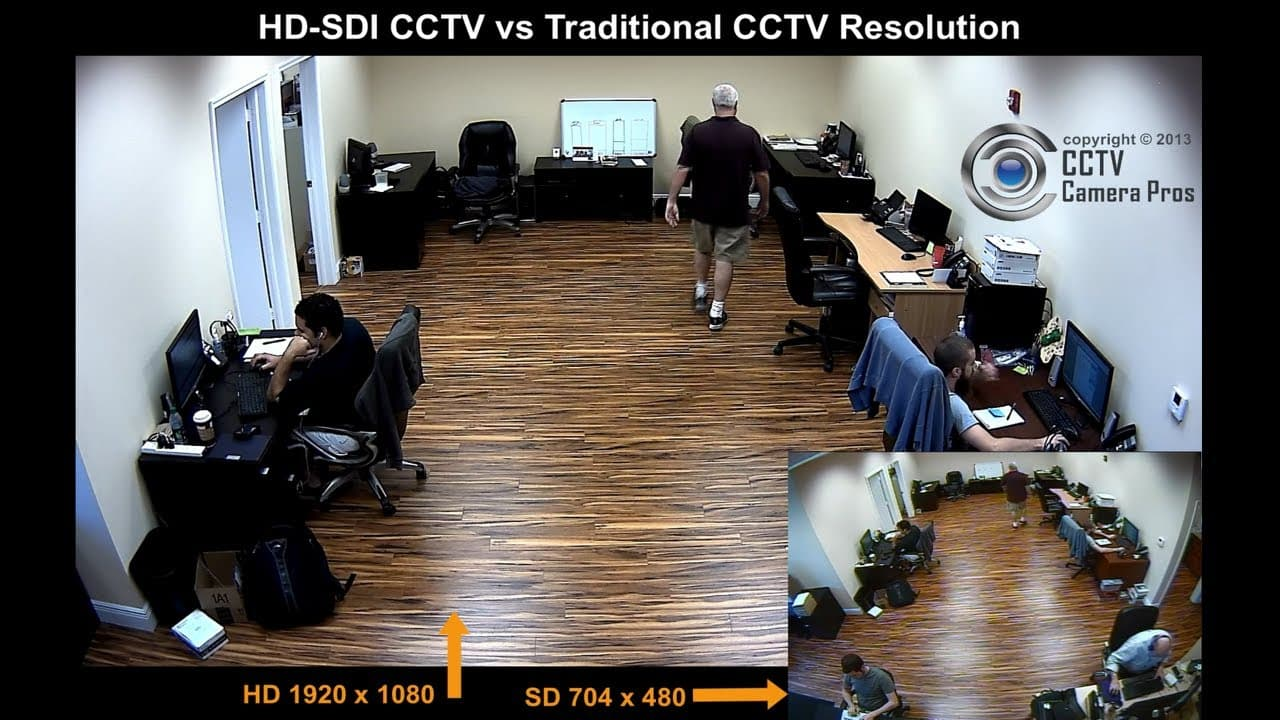 HD-SDI Camera vs Analog CCTV Camera