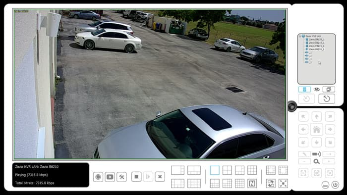 Zavio NVR Software - Remote Live IP Camera View