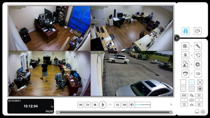 Zavio NVR Software - Remote IP Camera Video Playback