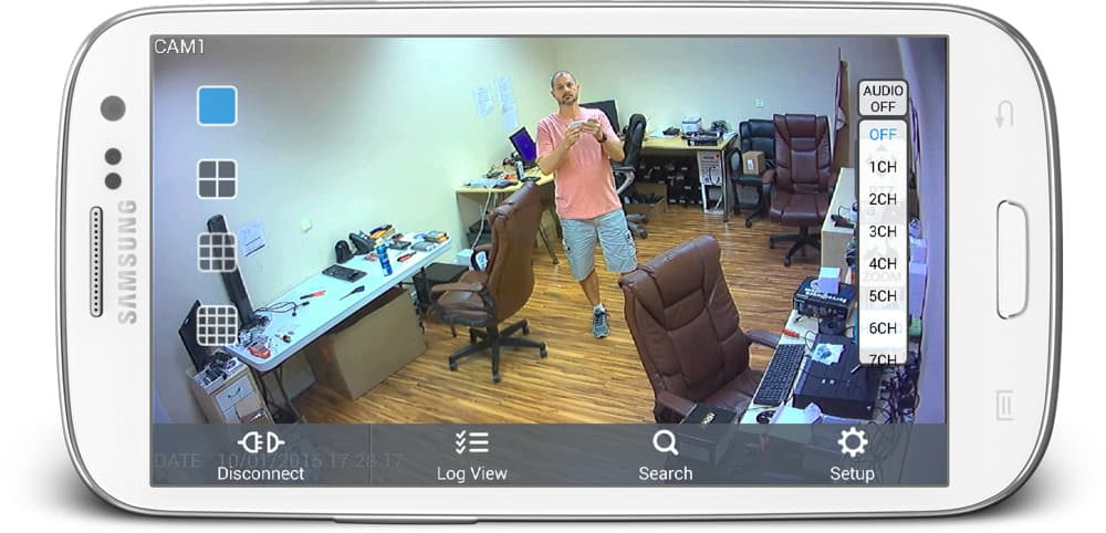 Android Security Camera App with Audio Surveillance