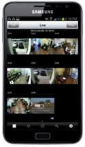 Android CCTV Camera View