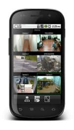 Nuuo Surveillance DVR iViewer Android App Live Camera View 1