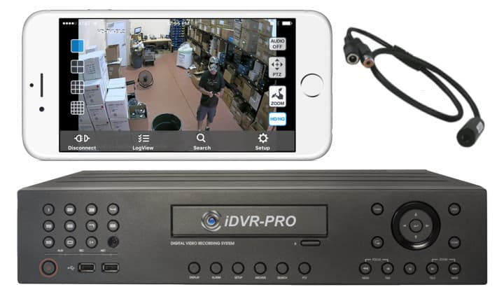 Remote Audio Surveillance from iPhone App