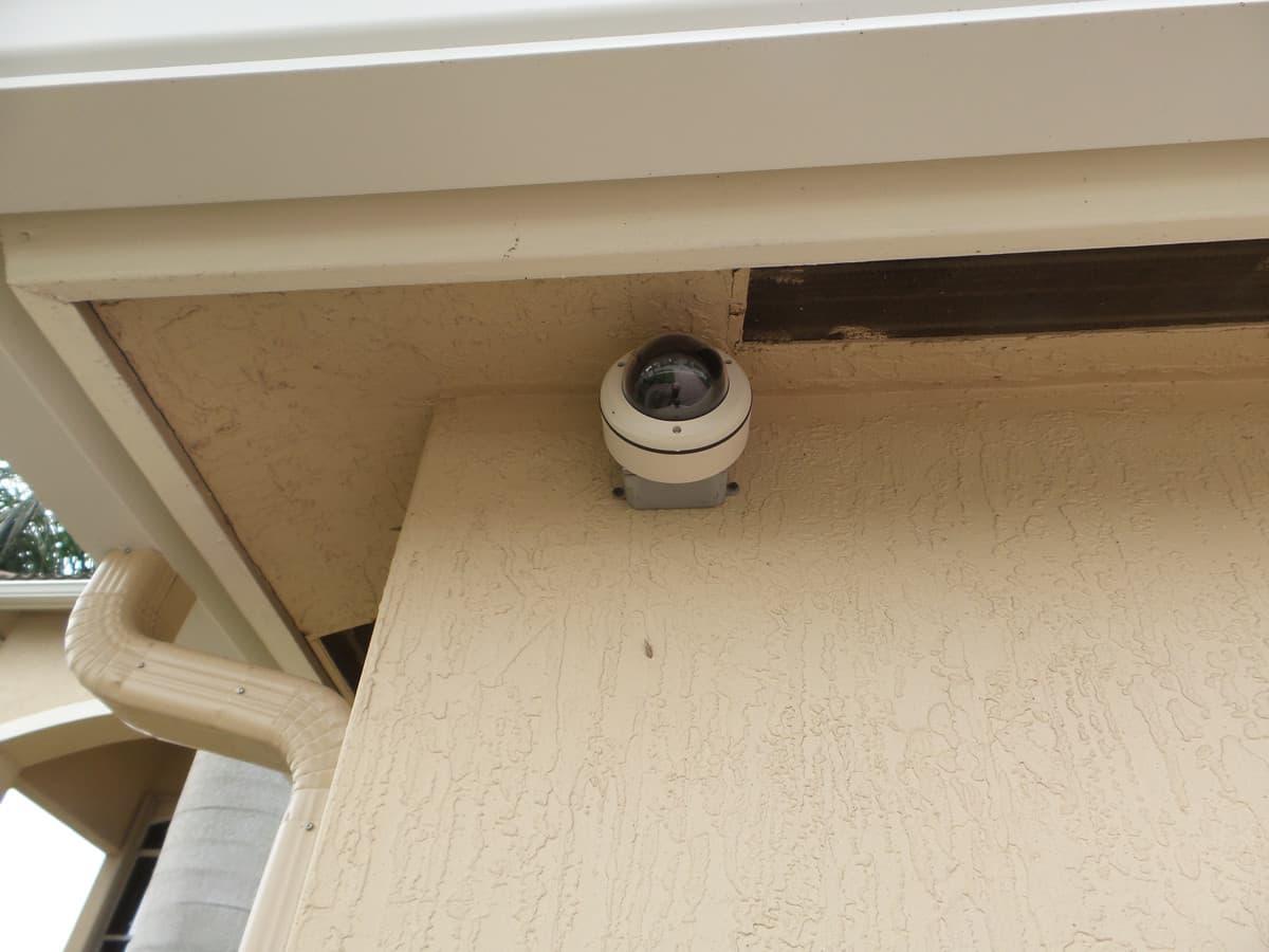 Outdoor Surveillance Dome Camera